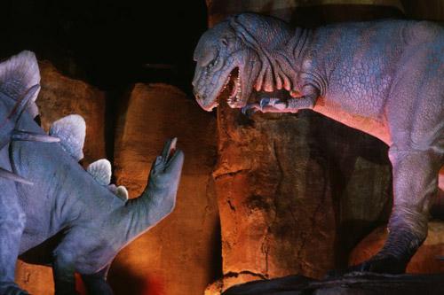 Dino Fight Scene