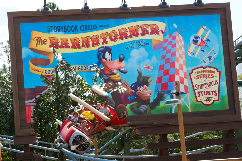 Barnstormer featuring the Greta Goofini