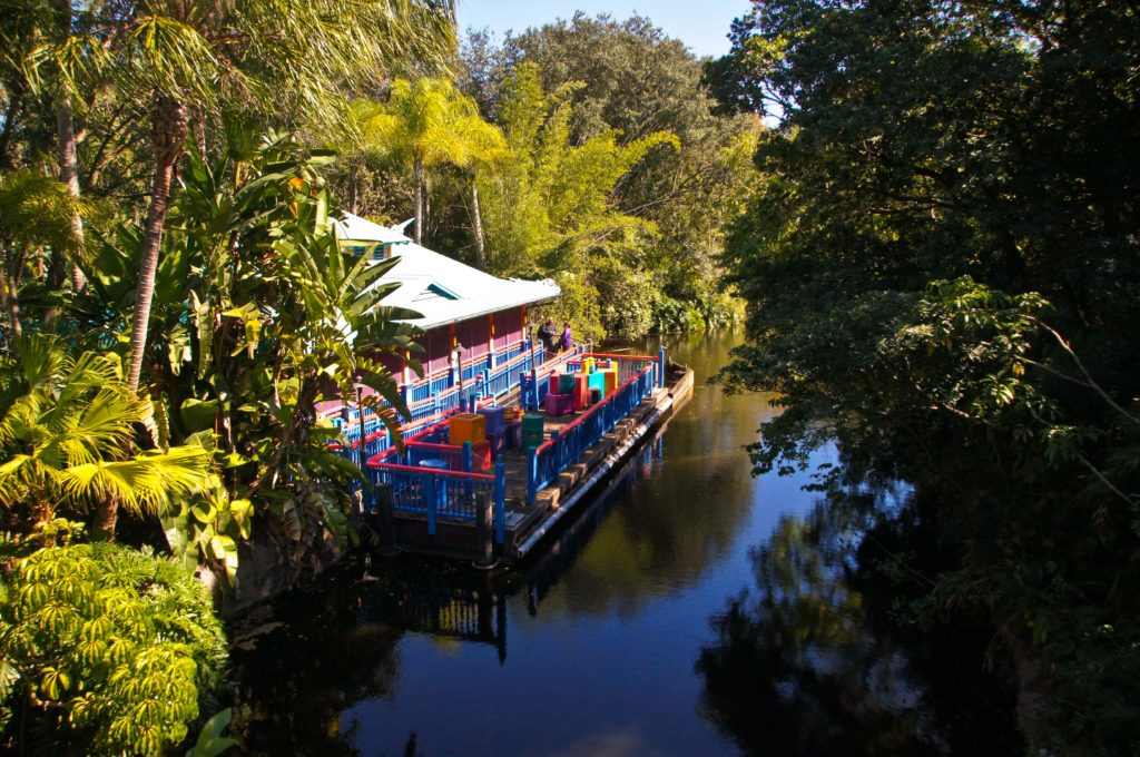Discovery Island Boat Dock